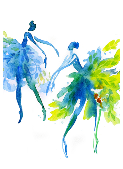 Forest dancers